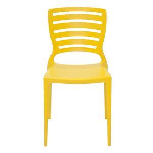Cadeira-Tramontina-Sofia-Amarela