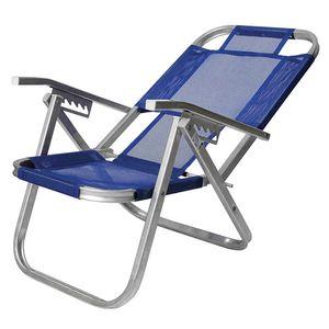 Cadeira-de-Praia-Ipanema-Reclinavel-Azul-Royal-Botafogo