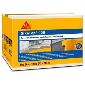 Impermeabilizante-Sika-Top-100-Cinza-18kg-Sika