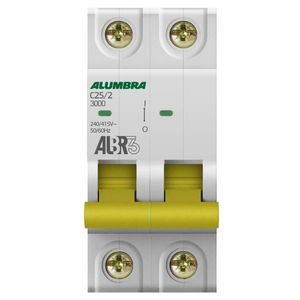 Disjuntor-C-2X25-DIN-Alumbra