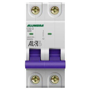 Disjuntor-C-2X32-DIN-Alumbra