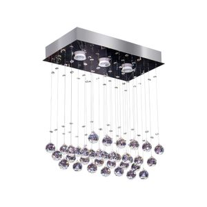Plafon-Retangular-Crystal-Ball-3-Luzes-Inox-Bronzearte