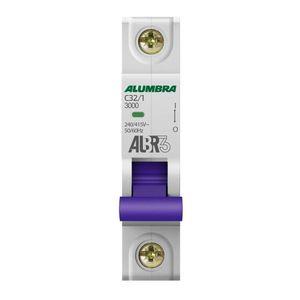 Disjuntor-C-1X32-DIN-Alumbra