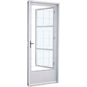 Porta-Em-Aco-Com-Postigo---Grade-Quadriculada-Vidro-Mini-Boreal-D217x87x08-Branco-Sasazaki