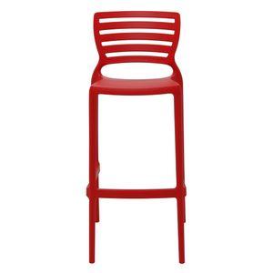 Cadeira-Tramontina-Sofia-Alta-Bar-Vermelha