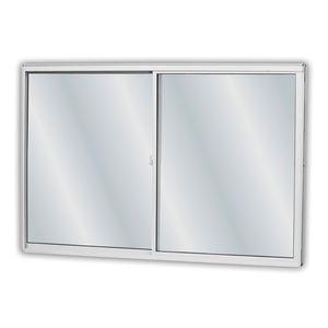 Janela-Soft-Aluminio-De-Correr-2-Folhas-Com-Vidro-Liso-Branca-100x120x77-MGM