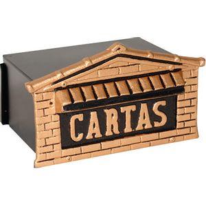 Caixa-De-Correio-Colonial-12x20x10cm-Para-Muro-Ouro-De-Minas