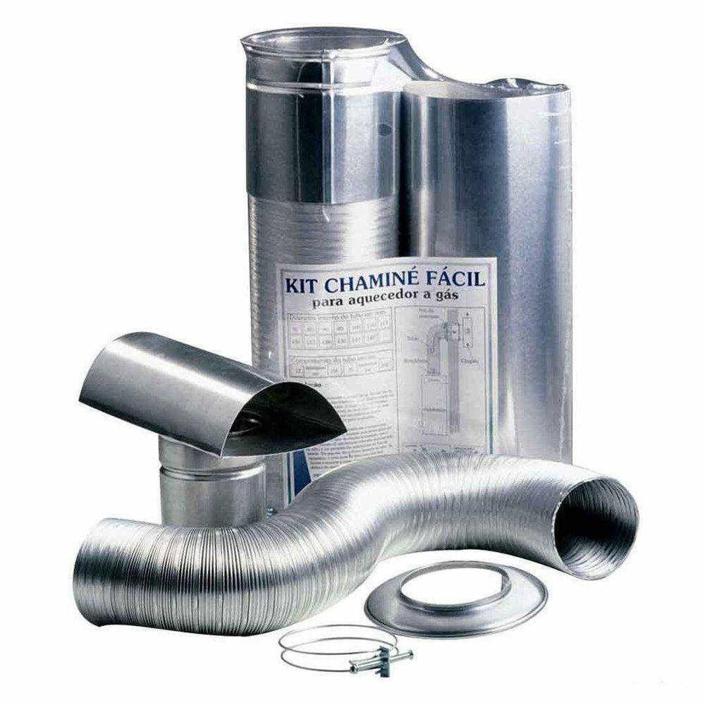 Kit-Chamine-Facil-80mmx370-150MT-Aluminio-Westaflex