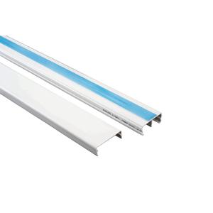 Canaleta-Para-Superficie-32X12MM-Dexson-Branco-Com-Divisoria---Adesivo-2M-Schneider