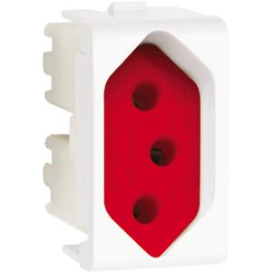 Modulo-Tomada-2P-T-Fundo-Vermelho-20A-250V-Lunare-Branco-Schneider