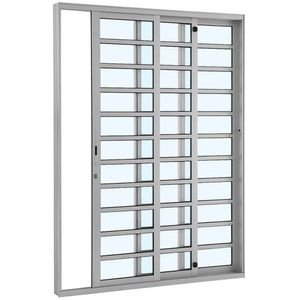 Porta-de-Correr-Aluminio-Alumifort-3F-E216X125X160-Branco-Sasazaki