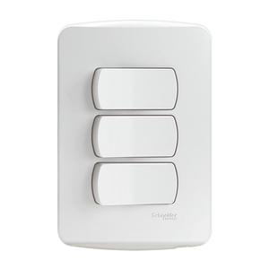 Conjunto-3-Interruptores-Simples-10A-250V-Miluz-Branco-Polar-Schneider