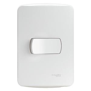 Conjunto-Interruptor-Paralelo-10A-250V-Miluz-Branco-Polar-Schneider