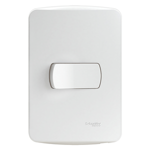 Conjunto-Interruptor-Simples-10A-250V-Miluz-Branco-Polar-Schneider