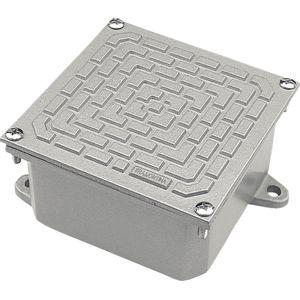 Caixa-de-Passagem-Com-Tampa-Reversivel-CP-3030-Aluminio-Tramontina