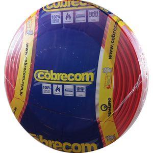 Cabo-Flexivel-40mm-750V-Rolo-100m-Vermelho-Cobrecom