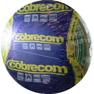 Cabo-Flexivel-100mm-750V-Rolo-100m-Verde-Amarelo-Cobrecom