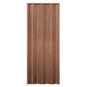 Porta-Sanfonada-Decor-210X60-Castanho-Wood