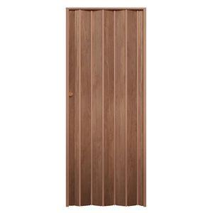 Porta-Sanfonada-Decor-210X80-Castanho-Wood