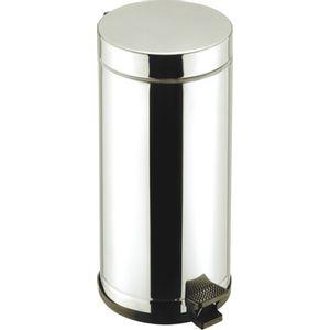 Lixeira-Com-Pedal-Inox-15L-Viel