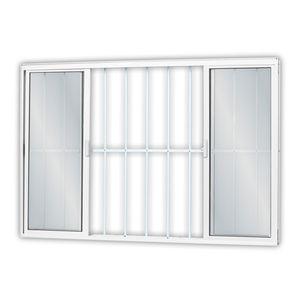 Janela-de-Correr-Aluminio-Solida-4F-Grade-100X120CM-Branco-MGM