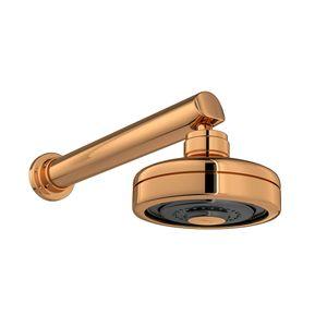 Chuveiro-Com-Tubo-de-Parede-Red-Gold-Acqua-Plus-Deca