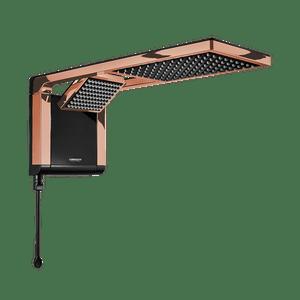 Chuveiro-Acqua-Due-Ultra-Eletronico-220V-6800W-Preto-Rose-Gold-Lorenzetti