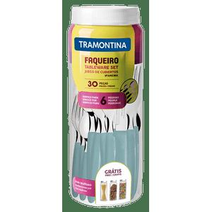 Jogo-de-Talheres-Ipanema-30-Pecas-Inox-Menta-Tramontina