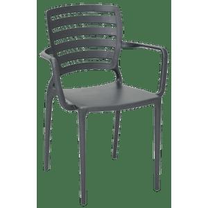 Cadeira-Tramontina-Encosto-Horizontal-Sofia-Summa-Grafite