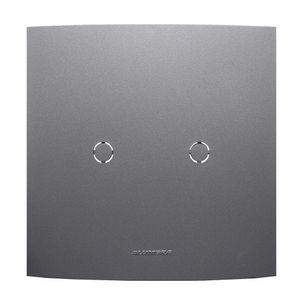 Placa-Cega-Pro-Com-Suporte-Inova-4x2-Grafite-Alumbra