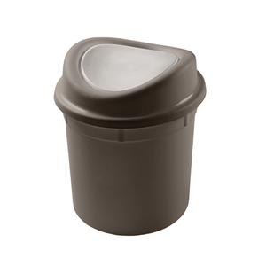 Lixeira-Com-Basculante-Para-Pia-Marron-Fendi-27L-Plasvale