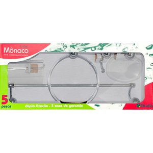 Kit-Acessorios-Para-Banheiro-5-Pecas-Cristal-Monaco-Cromado-Duda
