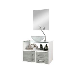 Kit-Gabinete-C--Cuba-e-Espelho-45x60x40cm-Glass-Branco-Cimenticio-Astral-Design