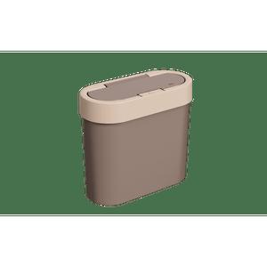 Lixeira-Flat-28L-Warm-Gray-Coza